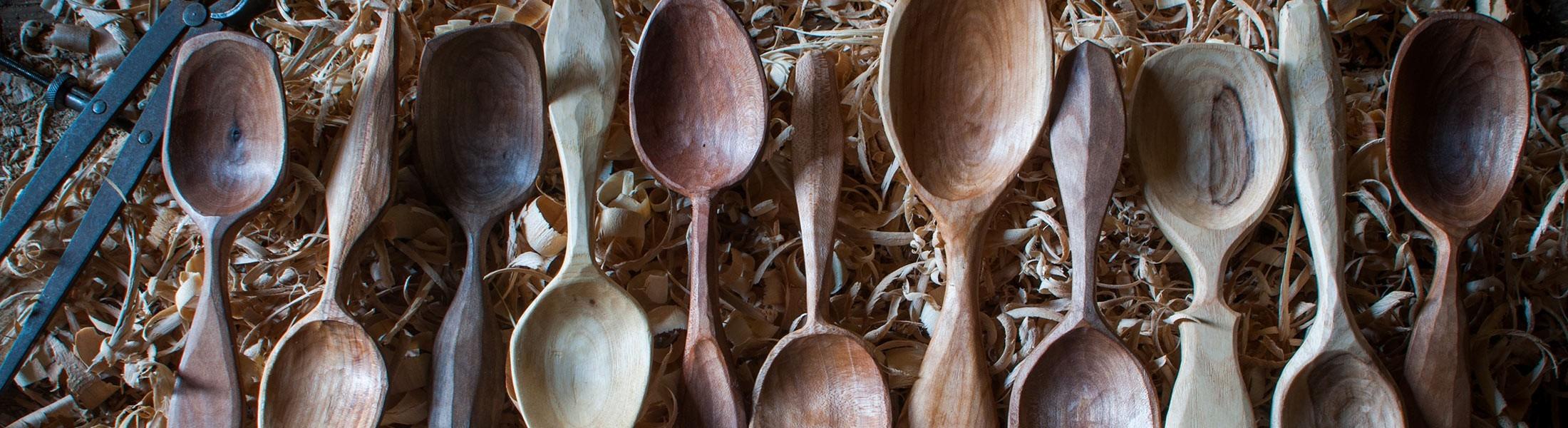 Tête de Bois   Cuillère de table artisanal