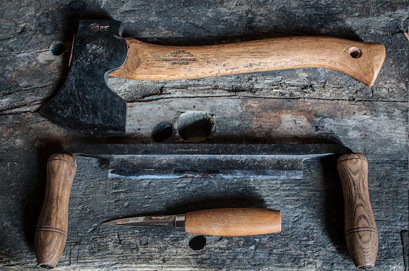 outil de fabrication cuillère en bois