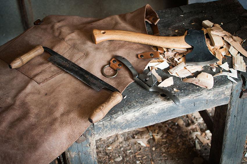 tete de bois atelier outils