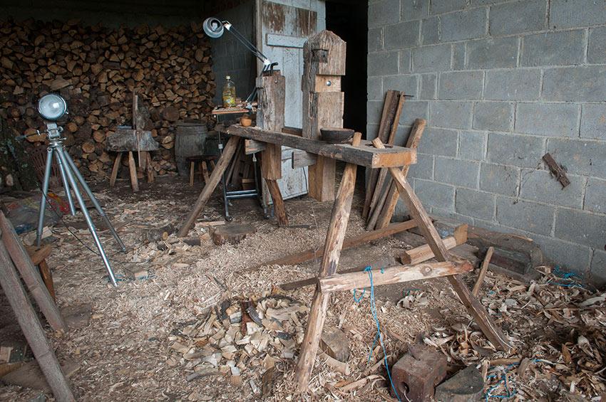 tete de bois atelier tour à perche